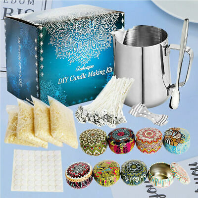 £35.99 • Buy Complete Candle & Melt Making Kits DIY Starter Dyes Wicks Soy Wax Candle Pitcher