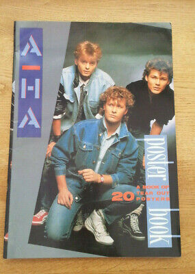£49.95 • Buy A-HA Poster Book  20  16x11 Inch Posters