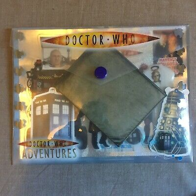 £7.99 • Buy Doctor Who Time Agent Pouch Psychic Paper W/ Stickers Magnets From DW Adventures
