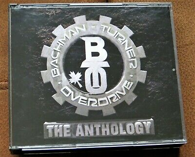 £9.99 • Buy BACHMAN-TURNER OVERDRIVE - The Anthology - 2CD FATBOX (1993)
