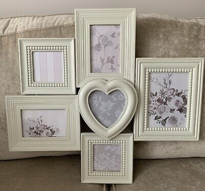 £15 • Buy Next Shabby Chic Multi Aperture Photo/Picture  Rustic Distressed Wood Frame