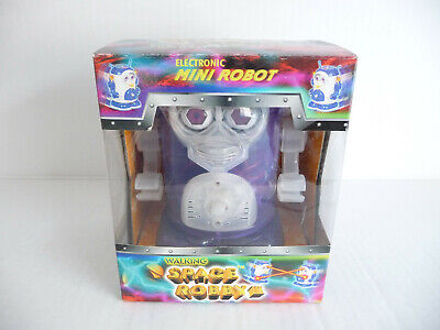 £12 • Buy Walking Space Robby III Toy Robot; Battery Operated Moving See-through Plastic