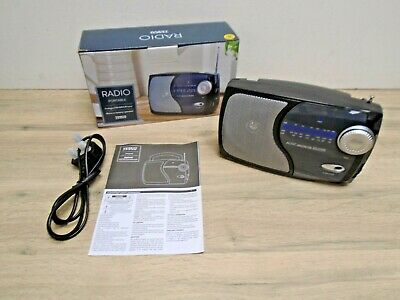 £4.99 • Buy Tesco Portable Radio Analogue FM/AM/LW Tuner Boxed Tested Working Brand New