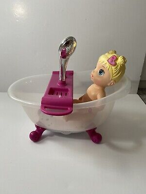 £12.95 • Buy Baby Born Bath / Shower Zapf Creations Includes Baby Alive Doll
