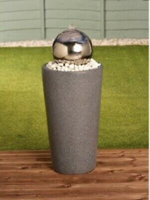 £139.99 • Buy New Stainless Steel Gazing Ball Water Garden Water Feature - Free P&P! ✅!