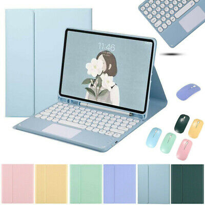 AU52.19 • Buy For IPad 5/6/7/8th Air Pro 11 Bluetooth Keyboard Touchpad Mouse Stand Case Cover