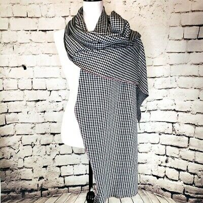 £17.70 • Buy Late Sunday Afternoon Houndstooth Wrap Scarf