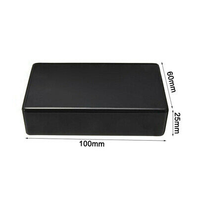£5.69 • Buy 5 Pcs Abs Plastic Enclosure Box For Electronic Project Circuit Black Case Safety
