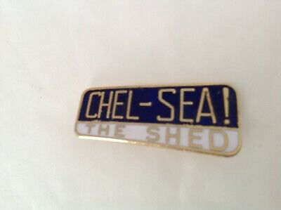 £9.99 • Buy Rare Old Chelsea Fc Coffer Enamel Football Pin Badge Stamped Coffer