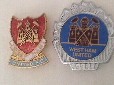 £9.99 • Buy 2 Rare Old West Ham United Fc  Football Pin Badges  1 Stamped Coffer