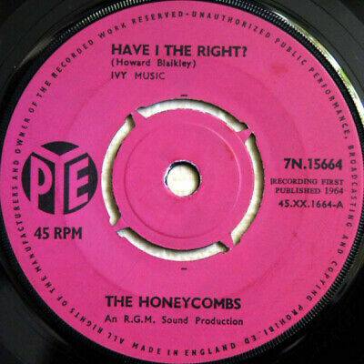 £5.53 • Buy The Honeycombs Have I The Right Vinyl 7 .6505.