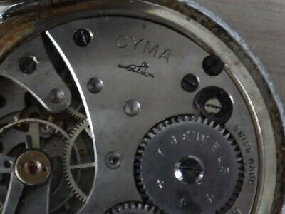 £9 • Buy Antique Pocket Watches Cyma For Repair Or Parts