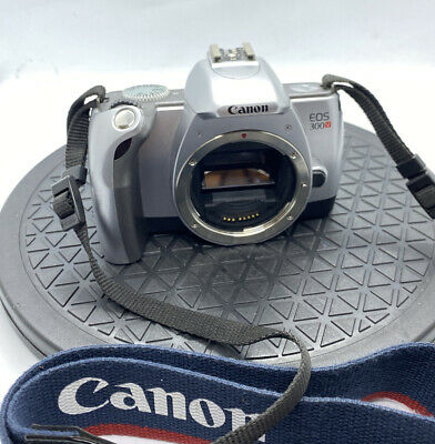 £20 • Buy CANON EOS 300V SLR 35mm FILM CAMERA, BODY ONLY WITH NECK STRAP, GREAT ITEM