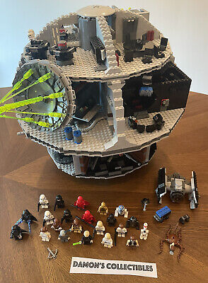 £354.11 • Buy Lego 2008 Star Wars 10188 DEATH STAR 1st Edition RETIRED Complete W/ Minifigures