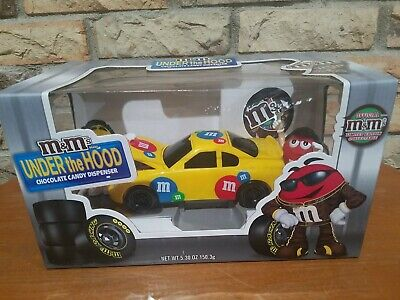 £10.65 • Buy M&M's Under The Hood Chocolate Candy Dispenser Red & Yellow's Pit Stop