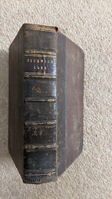 £80 • Buy Charles Dickens Posthumous Papers  Pickwick Club  1838 Seymour Phiz 1st Ed