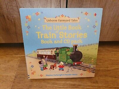 £12.50 • Buy Usborne Farmyard Tales-the Little Book Of Train Stories And CD