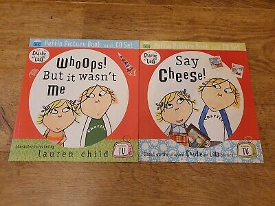 £9.80 • Buy Charlie And Lola Book And CD Set X 2