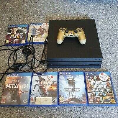 AU387.40 • Buy Sony Playstation 4 PS4 Pro 1TB Controller Game Bundle
