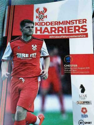 £3 • Buy Kidderminster Harriers V Chester FC National League North Football 24/8/2019