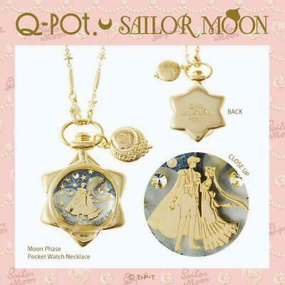 £494.91 • Buy Moon Phase Pocket Watch Necklace Q-Pot. Sailor