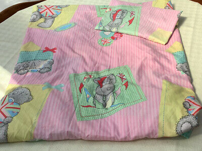 £10 • Buy Me To You Tatty Teddy Single Duvet Cover And Pillow Case Bedding Set