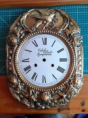 £39.99 • Buy Antique French Clock Face Enamel Dial