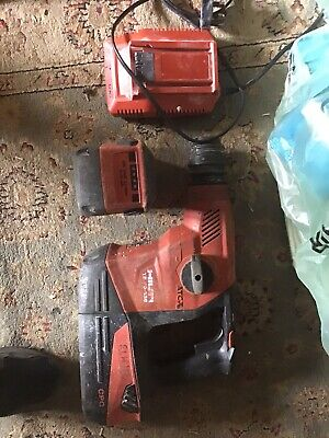 £460 • Buy Hilti TE30-36 Come With 2x36v 6.0 Batteries And Charger
