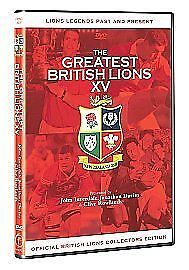 £1 • Buy The Greatest British Lions XV Ever (DVD, 2005)