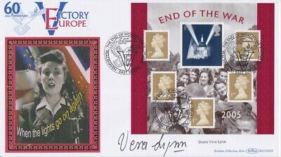 £2.19 • Buy Stamps Souvenir Cover Signed The Sweetheart Of The Forces Dame Vera Lynn
