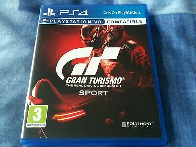 £19.99 • Buy GRAN TURISMO Sport (sony PlayStation 4 Racing Game) The Real Driving Simulator
