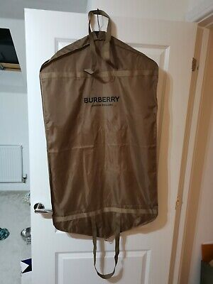 £19.99 • Buy Burberry Authentic Solid Garment Bag Suit Coat Dust Cover Travel Carriers Size S
