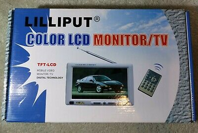 £50 • Buy Lilliput 318GL-70 TFT-LCD 7  COLOR   Widescreen  Monitor TV