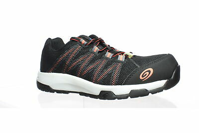 $ CDN15.76 • Buy Nautilus Womens Accelerator Black/Coral Safety Shoes Size 8 (1521071)