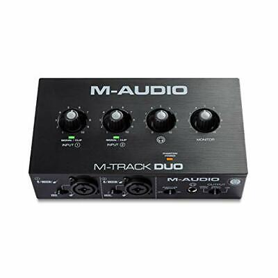 $97.36 • Buy M-Audio M-Track Duo – USB Audio Interface For Recording Streaming And Podcast...