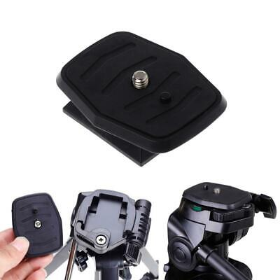 £2.65 • Buy Quick Release Plate Universal Tripod Screw Adapter For  Velbon Sony