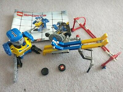 £14.99 • Buy LEGO Sports Hockey Puck Feeder 3545 With Working Motor And 2 Pucks