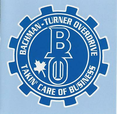 £4.99 • Buy Bachman-Turner Overdrive Takin' Care Of Business CD NEW SEALED 1998 Not Fragile