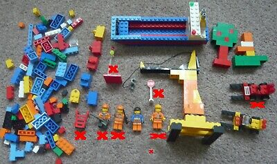£15 • Buy LEGO SET 6186 HARBOR SET With Extra Figures And Items Year 2008 Boxed Used Set