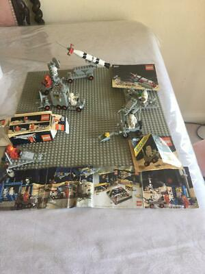 £39.99 • Buy Job Lot LEGO Classic Space 897 Mobile Rocket, 6621, 6821, 885, And Large Board+1