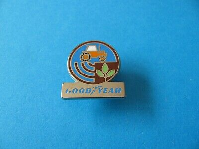 £3.25 • Buy GOOD YEAR Tractor Pin Badge. VGC. Enamel. Agricultural Tyres.