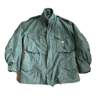 $175 • Buy Vintage 60s 70s Militaria M65 Field Jacket Sage Green Size Small Short