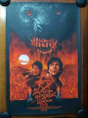 £110 • Buy An American Werewolf In London - Limited Edition Screen Print - By Vance Kelly