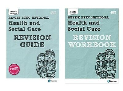 £16 • Buy BTEC National Health And Social Care Revision Guide And Workbook