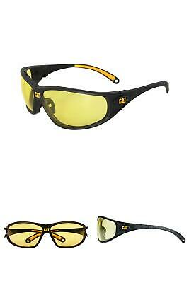 £9.93 • Buy Safety Glasses Tread Yellow Lens With Case