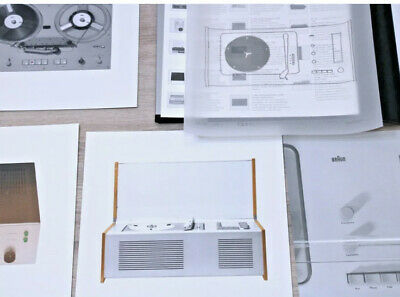 £216.50 • Buy Vrare! Braun Last Edition Dieter Rams Lithographic Prints Sk 4 Tp1