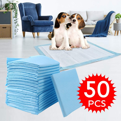 £8.99 • Buy Heavy Duty Large Puppy Pet Training Wee Pee Toilet Pads Pad Floor Mats Dog Cat