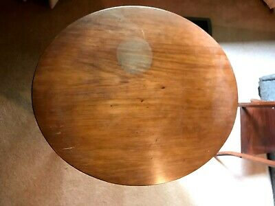 AU20 • Buy Occasional Table, Blackwood, Oval, Water Mark On Top