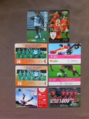 £0.86 • Buy 8 Different Prepaid Cards Used  -  FOOTBALL