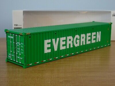 £30.19 • Buy Diecast Masters Evergreen 40ft Shipping Container Truck Load Model 91027d 1:50